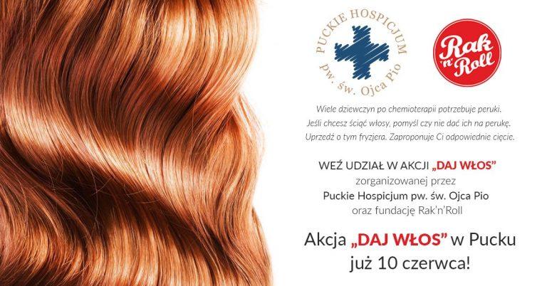 Daj włos w Puckim Hospicjum